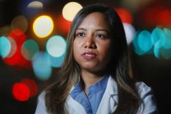 Kamini Doobay, an Emergency Medicine Resident physician at NYU Langone Medical Center and Bellevue Hospital.