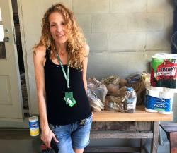 Instacart gig worker Summer Cooper, 39, delivers groceries.