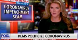 Trish Regan, the Fox commentator who was dismissed last week over her coronavirus reporting.