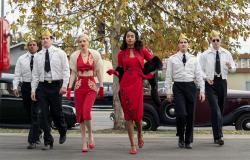 Cast members in Ryan Murphy's 'Hollywood.'