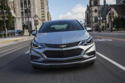 This photo provided by Chevrolet shows the 2017 Chevrolet Cruze. The Cruze is an efficient economy sedan that fits the bill for shoppers looking for comfortable and affordable transportation.