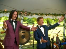 Keanu Reeves and Alex Winter in 'Bill & Ted Face the Music'