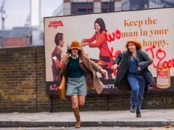 Keira Knightley and Jessie Buckley in 'Misbehaviour'