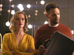 Kerry Bishé and Joel McHale in 'Happily'