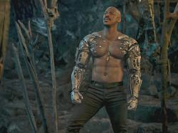 Mehcad Brooks as Major Jackson 'Jax' Briggs in 'Mortal Kombat'