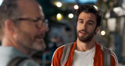 John Benjamin Hickey and Niv Nissim in 'Sublet'