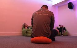 The Vibe Room at Recovery Unplugged's Austin facility.