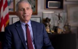 Dr. Anthony Fauci in the National Geographic documentary about him