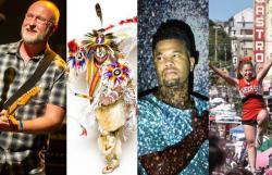 Bob Mould; Ethnic Dance Fest; 'Interlude' @ NCTC; Castro Street Fair