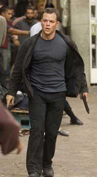 Matt Damon as Jason Bourne