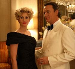 "Julia Roberts and Tom Hanks in ""Charlie Wilson's War"""