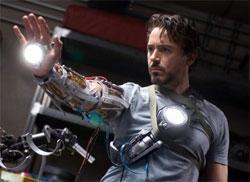 "Robert Downey Jr. in ""Iron Man"""