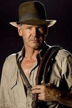 "Harrison Ford in ""Indiana Jones and the Kingdom of the Crystal Skull"""