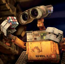 """The adorable robot star of """"WALL*E"""" ponders life, the universe and everything."""