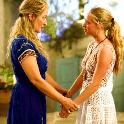 "Meryl Streep and Amanda Seyfried in ""Mamma Mia!"""