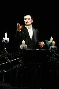 Anthony Crivello as the Phantom of the Opera in the Las Vegas version of the musical hit.