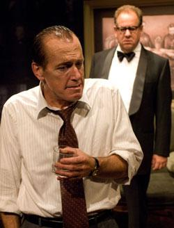 Larry Yandow as Nixon and William Brown as Kissinger