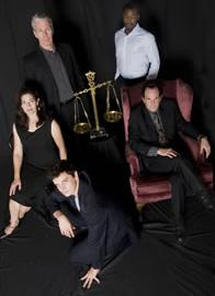 The cast of The Merchant of Venice