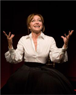 "Julie White in ""The Little Dog Laughed"""