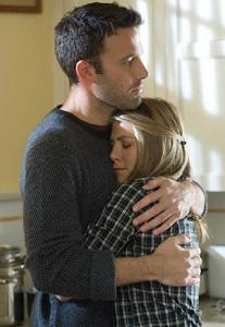 He's into her... or is he? Ben Affleck and Jennifer Aniston star