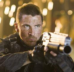"Christian Bale in ""Terminator Salvation"""