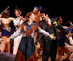 Emily Thompson and Colin Pritchard in Crazy for You.