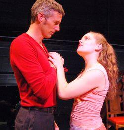 """Jeff Parker and Emma Rosenthal in Porchlight Music Theatre's """"The Fantasticks"""""""