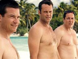 "Justin Bateman, Vince Vaughn and Jon Favreau in ""Couples Retreat"""