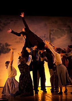 Dillian Arrick as Emily takes flight
