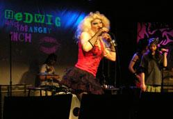 Danny Bryck stars in 'Hedwig and the Angry Inch,' playing through Nov. 22 at the Arsenal Center for the Arts
