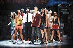 """The cast of the national tour of """"In the Heights"""""""