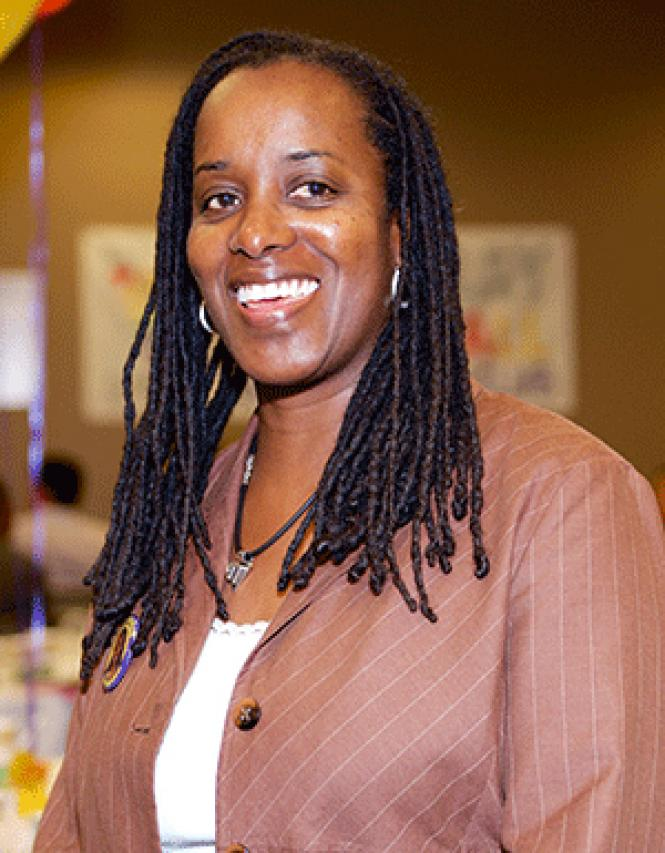 Assembly candidate Jovanka Beckles