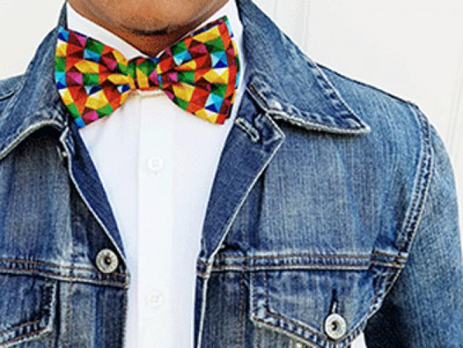 The sale of rainbow-themed bow ties will help several nonprofits, including the San Francisco LGBT Community Center.