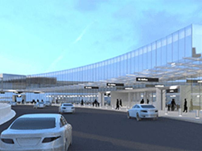 A city panel has recommended that Terminal 1 (shown here as an artist rendering) at San Francisco International Airport be named after slain gay supervisor Harvey Milk