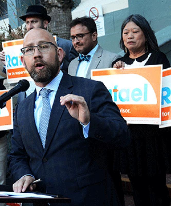Supervisor candidate Rafael Mandelman
