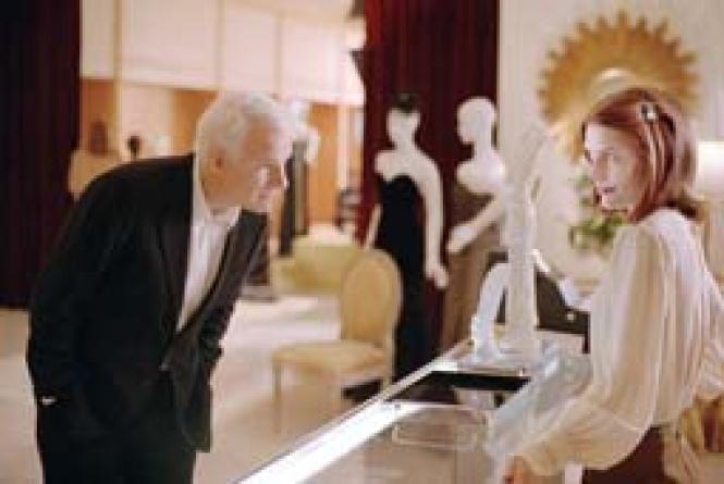 Steve Martin and Claire Danes in <i>Shopgirl.</i><br><br><br>