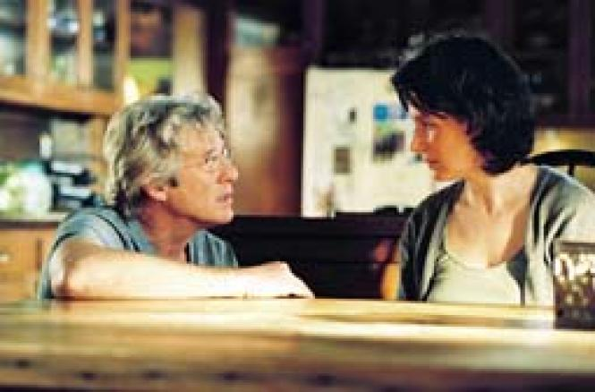 Richard Gere (Saul) and Juliette Binoche (Miriam) in <i>Bee Season</i>. Photo: Phil Bray