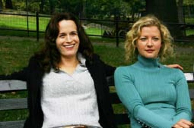 Elizabeth Reaser and Gretchen Mol in Puccini for Beginners. Photo: Courtesy Strand Releasing