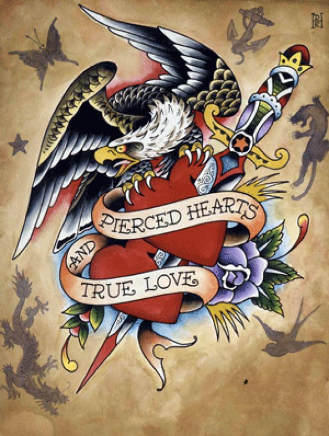 From <i>Ed Hardy Tattoo the World.</i><br> Photo: Courtesy SFFS