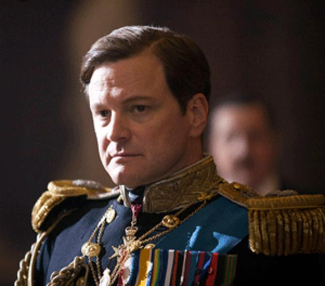 Colin Firth in <i>The King's Speech</i><br>.