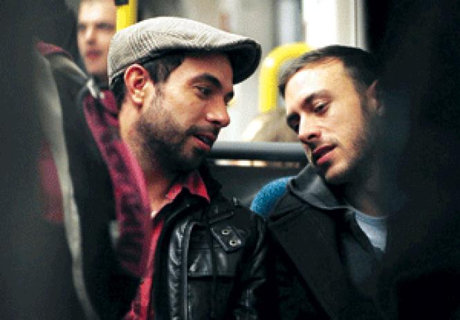 Tom Cullen and Chris New in Andrew Haigh's <i>Weekend.</i><br> (Photo: Quinnford & Scout)