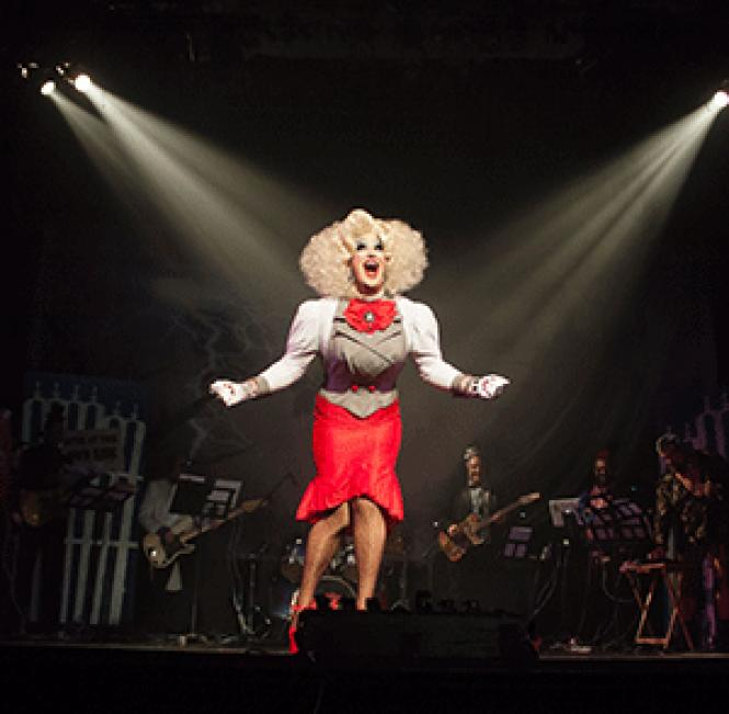 Joshua Grannell is stage star Peaches Christ. Photo:<br>Courtesy the subject