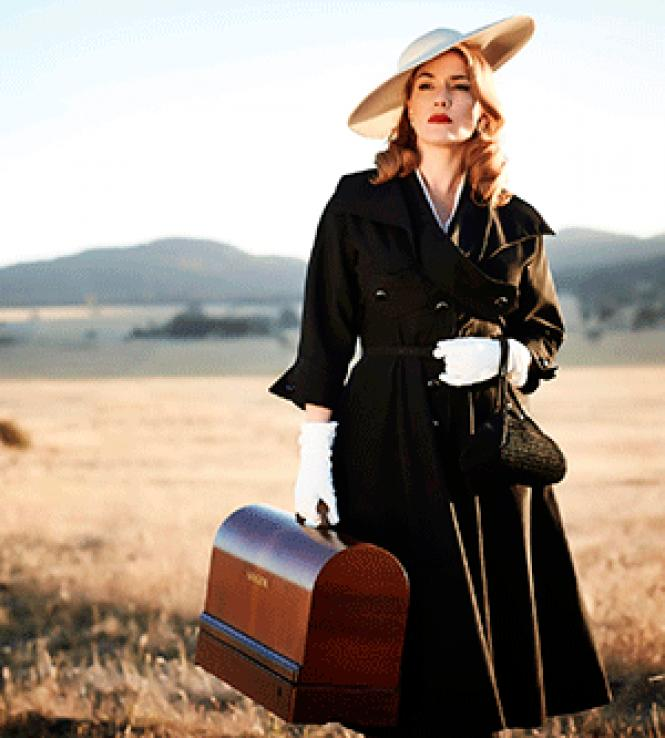 Director Jocelyn Moorhouse's <i>The<br>Dressmaker</i> is a screwball comedy/melodrama<br>set in the 1950s starring Kate Winslet.