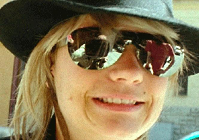 Samantha Knoop as the faux JT LeRoy: unparalleled<br>chutzpah.