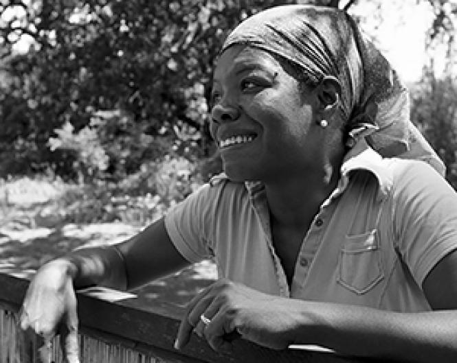 Maya Angelou, great American poet. Photo: Courtesy<br>American Masters Pictures/PBS