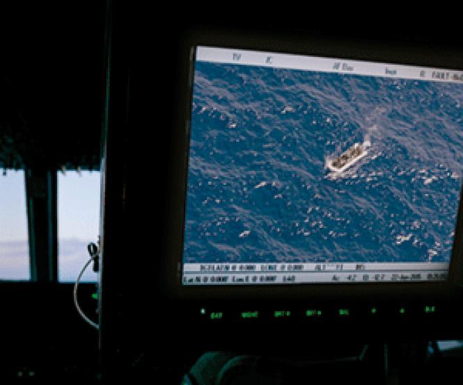Scene from director Gianfranco Rosi's <i>Fire at<br>Sea.</i> Photo: Arte France Cinéma