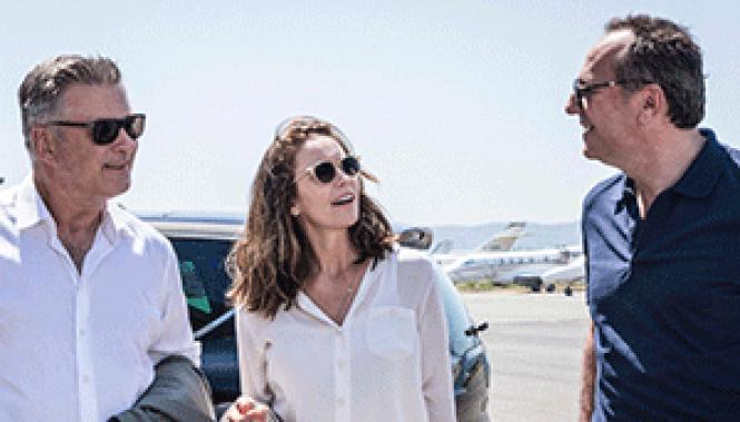 Alec Baldwin, Diane Lane and Arnaud Viard in director<br>Eleanor Coppola's <i>Paris Can Wait.</i>