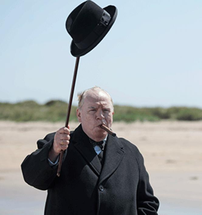Brian Cox plays the title character in director Jonathan<br>Teplitzky's <i>Churchill.</i> Photo:<br>Cohen Media Group