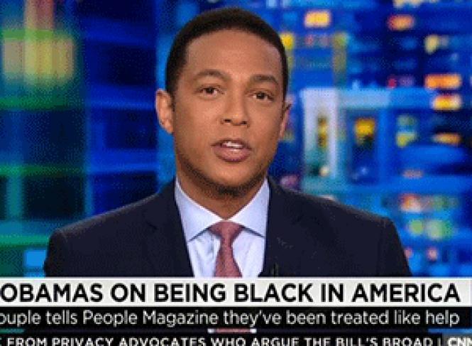CNN's black gay reporter and commentator Don Lemon on his show <i>CNN Tonight.</i> Photo: Courtesy CNN