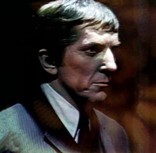Jonathan Frid as Barnabas Collins in TV&#039;s<i>Dark Shadows</i>.
